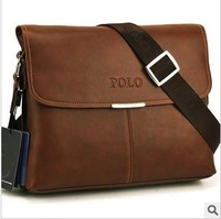 Free shipping new 2013 brand polo men messenger bags  casual bags polo bag for men leather bags men bags