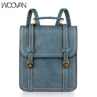 WOOVAN new 2013 retro casual the knapsack women's shoulder bag backpack doubles packet Korean fashion school the female bags