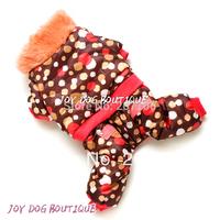 Stylish and Warm Pet Dog Clothes,Pet Dog Winter Jacket with Pants
