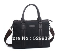 Free shipping,man's vintage canvas shoulder bag,best selling fashion functional male handbag,best christmas gift
