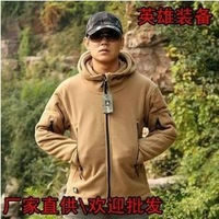 2013 new winter men outdoor jackets TAD stalkers Hoodie / Fleece multi-color optional Coat garments Free Delivery
