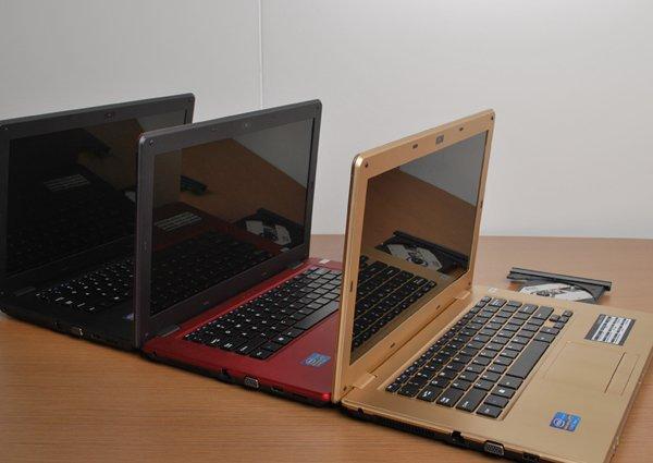 14 1 laptop Intel N2600 notebook computer Dual Core 4GB RAM 500GB HDD Webcam DVD RW