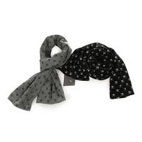 retail  Fashion kids Scarf Baby Skull Scarves Double-deck Spring Autumn Boys Cotton Scarf Children Gift