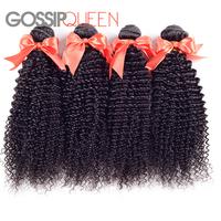 "Queen hair products mongolian kinky curly hair 8""-28""inch 3 pcs free shipping mongolian virgin hair extensions human"