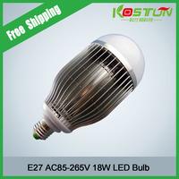 4X NEW 18W LED Bulb Lamp 18 ledsHigh brightness Bubble ball bulb E27/B22 85-265V AC Bubble Cold white/warm white Free shipping