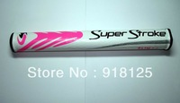 ID SIZE golf putter grip free shipping, Color: White + Pink