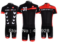 Personality  scorpion cycling jersey,Castelli short sleeves cycling jerseys suit,bicycle clothing,free shipping