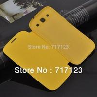 1 Piece Fashion PU Leather Case Flip Cover For Samsung Galaxy I9300 S3 neo i9301/SIII Neo+ I9300I +Free Screen Protector Film