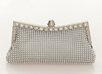 2013 luxury design brand evening bag rhinestone clutches women paillette day clutch Evening Purse crystal clutch evening bags