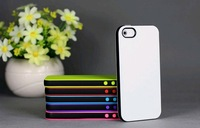 25pcs/lot, Hybrid/Double Color Style Soft TPU Cover Case For Iphone 5 Case, Mix Color