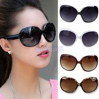 2014 Fashion New Elegant Women Ladies Shades Oversized Sunglasses Classical Frame Sun Glasses Eyewear Black/Coffee/White/Leopard