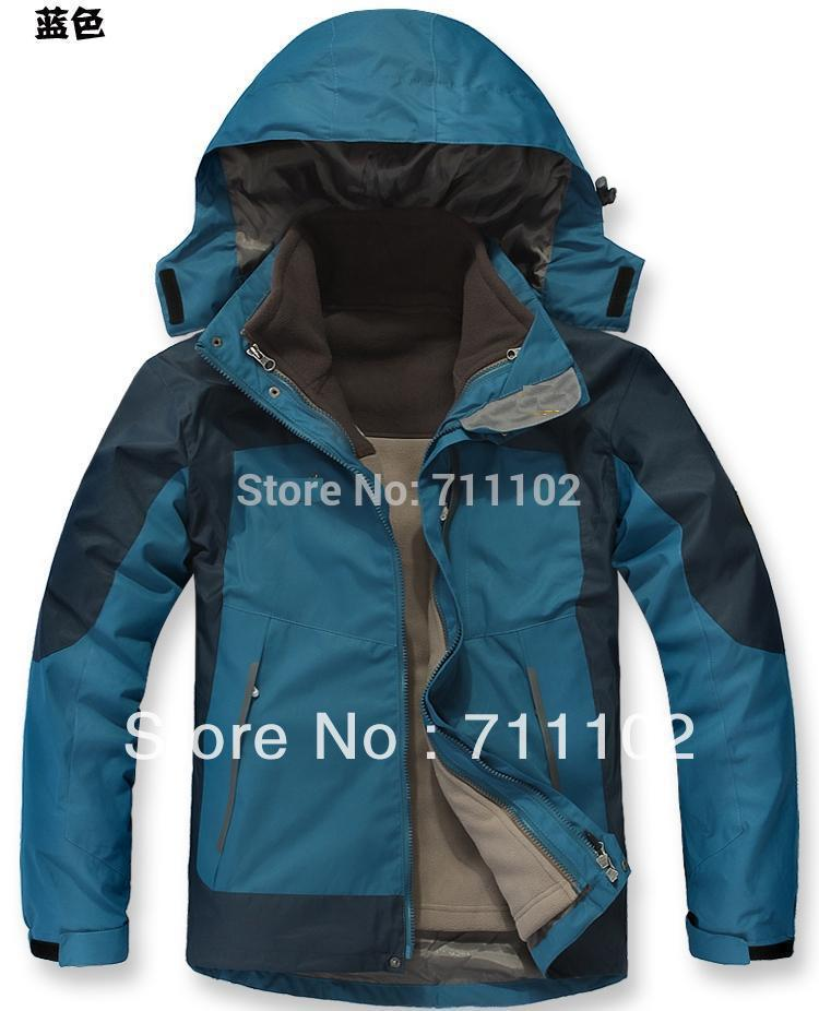 2014 men's clothing winter Jacket outdoor man outwear sports fashion climbing hoodies male clothes autumn spring parkas winter(China (Mainland))