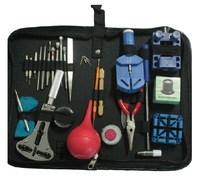 2014 New multifunctional medium grade watch repair maintenance tool kit 20 kinds of tools 27 PCS high quality