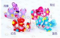 Free shipping  Cute Love Pentagram Bowknot Hairpins Children Hair rope Headdress   Multicolor Mixed  40pcs/lot