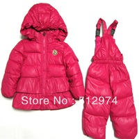 2013 winter New come!!Children down coat,girls down jacket/outwear/clothing sets/down suit,baby's parkas,100% natural down