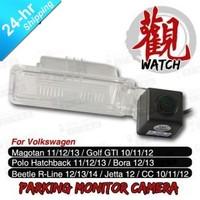 High Quality Wireless HD CCD Car Parking Camera for Volkswagen CC Magotan Golf GTI Jetta Bora Polo etc. Night Vision Waterproof