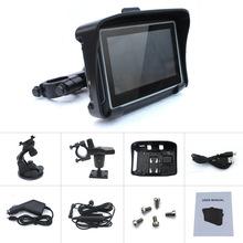 Rugged Waterproof Motorcycle GPS - 4.3 inch Resistive Touch Display Win CE 6.0 GPS Navigator  Bluetooth(China (Mainland))