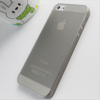 Hot Sale !!! Freeshipping 10Pcs Per Lot 0.3mm Ultra Thin Cover Simple Design Case for iphone 4/4s