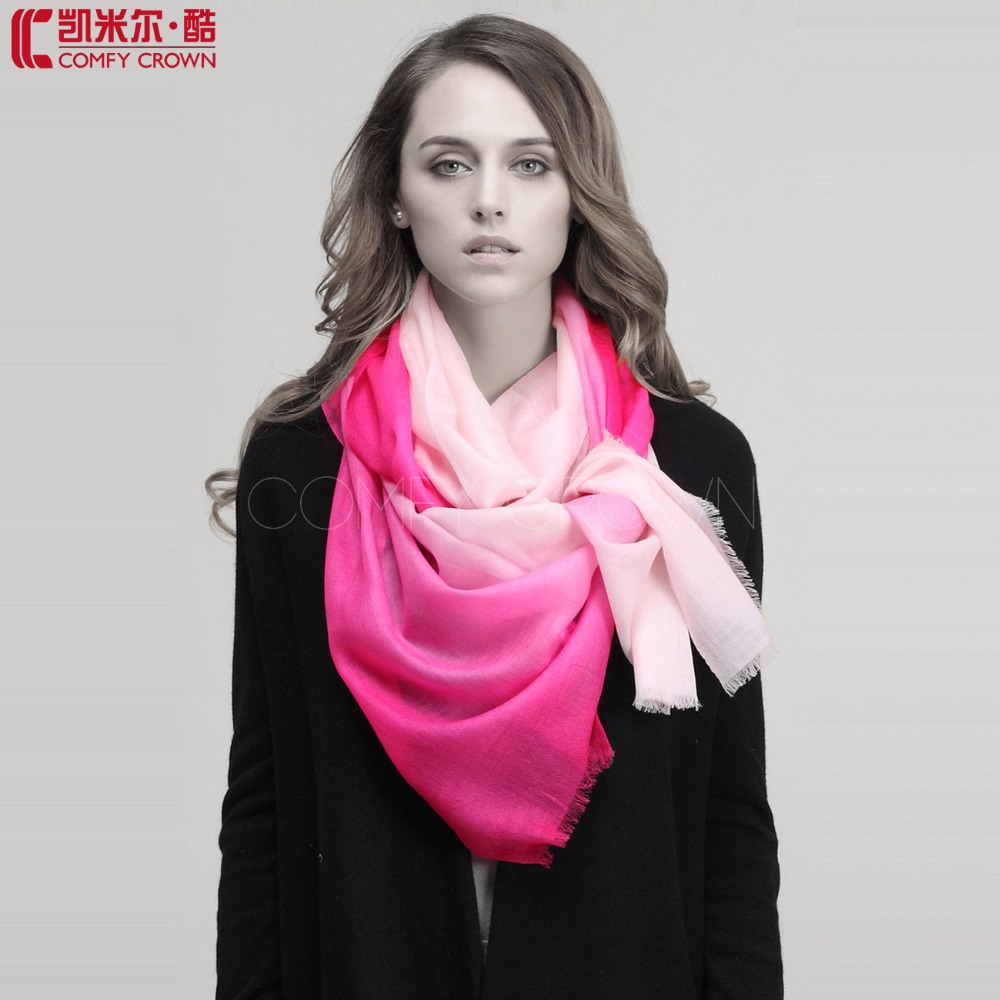Mint color girls' fashionable scarf 2014 brand new design shawl pure wool scarf shawl W0912032 as Christmas gift FREE SHIPPING(China (Mainland))