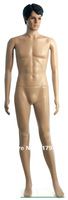 New Arrivals! Unbreakables Plastic Realistic Mannequin,  full body male mannequin,human body model