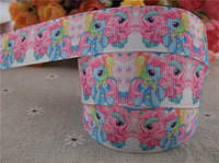 2013 new arrival 7/8'' (22mm) cartoon printed grosgrain ribbon hairbows ribbon 10 yards tape