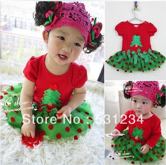 2014 New!Children's Christmas dress, girls Christmas dress, children's Christmas clothes,Children's clothes,girls dress GQ-279(China (Mainland))