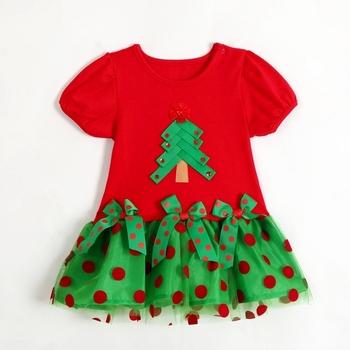 2014 New!Children's Christmas dress, girls Christmas dress, children's Christmas clothes,Children's clothes,girls dress