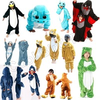 Baby Kids Anime Cosplay children's christmas Costumes Onesie Pajamas Sleepwear Nightclothes Gift For Hallowmas Free Shipping