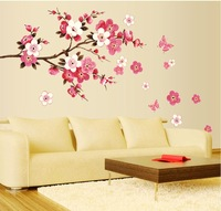 Christmas Decoration Wall Sticker Big size Removable Wall Stickers Flowers Butterfy Decal Art DIY Home Decor Wedding Decoration