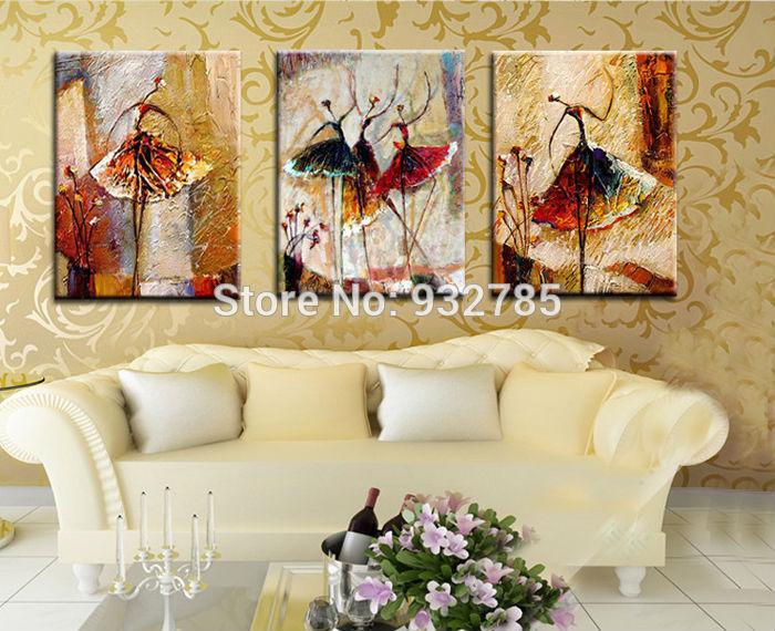 Ballet schilderij promotie winkel voor promoties ballet schilderij op - Decoratie schilderij gang ...