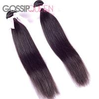 "6a unprocessed virgin hair malaysian virgin hair straight 8""-30"" malaysian virgin hair weaves human hair extension"