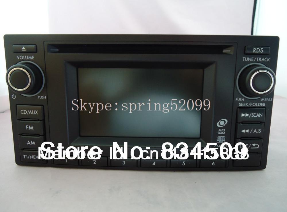 Original SUBARU 86201SC430 Clarion CD player PF-3304B-A for SUBARU Forester 2012 OEM car radio WMA MP3 USB Bluetooth Tuner(China (Mainland))