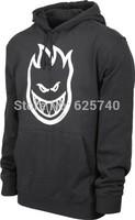 spitfire WHEELS skates hoodie sweatshirt hiphop rock dance sweater male sports clothing sweats free shipping brand BIGHEAD
