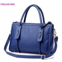 New Vintage Women PU Leather Messenger Purse Handbag Shoulder Bag Brown Black