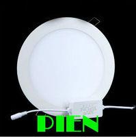 20w led ceiling panel lamp 1800lm 2835smd slim recessed round downlights 4500K Kitchen focos 110V 220V CE&RHS by DHL 10pcs/lot