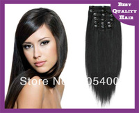 20 inch clip in natural brazilian hair extensions