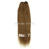 "12""-26"" #16 100g 100% Unprocessed Brazilian Virgin Hair Straight   Hair Raw Human Hair Weft Silky Straight Free Shipping"