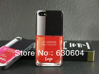 Newest High Quality Nail Color Polish Case Cover TPU Back Shell for iPhone 5 5S Wholesale Free Shipping DHL 150pcs/lot