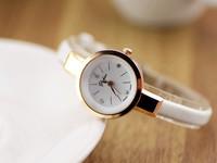 leather strap watches women fashion casual ladies quartz watch relogio feminino 2014 montre femme vintage hand clock waterproof