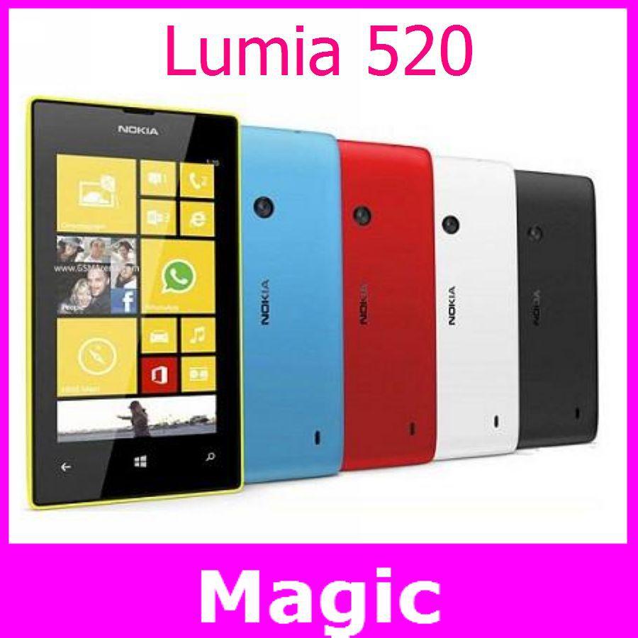Hot-cheap-phone-unlocked-original-Nokia-Lumia-520-windows-wifi-3G-8MP