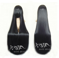 Free Shipping 2013 women japanese anime 100 cm long black straight hair wig  Hell Girl Anime cosplay wigs  costume party wigs