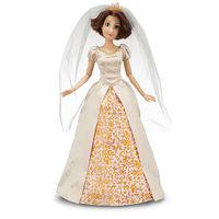 Genuine  fairy tale princess doll, classic doll,Tangled,Rapunzel Wedding,dolls for girls,free shipping