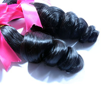Rosa Hair Product 3Pcs/Lot Loose Curly Virgin Brazilian Hair Weave,unprocessed Hair weave,Free Shipping&Fast Shipping By DHL