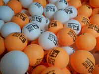 HOT SALE!FREE logo print wholesale Customized logo ball 2000pcs table tennis 38mm pingpong ball