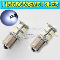 1156 /1157/3156/3157/ 7440 /7443 13 SMD 5050 Tail Light Turn Light BA15S 13SMD 5050 SMD LED 12V White 100pcs/lot