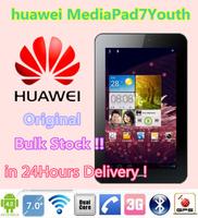7-inch Original huawei MediaPad 7 Youth Android 4.1 phone call tablet pc 1024x600 1GB RAM 8GB ROM 3.2PM dual cameras WCDMA