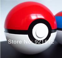 Free Shipping 1pcs ABS Action Anime Figures Pokemon balls PokeBall Fairy Ball Super Ball Master Ball kid model toy send Pikachu