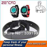 Heart rate monitor with Pedometer watch with 5.3KHZ chest belt