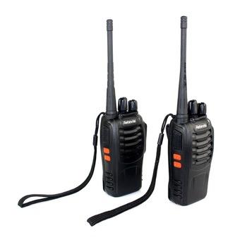 2pcs New Retevis H-777 Walkie Talkie A1044A UHF 5W 16CH Single Band 2-Way Radio