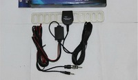 car analog tv antenna Aerial with Amplifier for car dvd tv